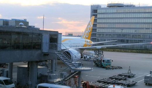 スクートScoot大阪関空からバンコク・ドンムアン空港まで!TZ297便レポート!