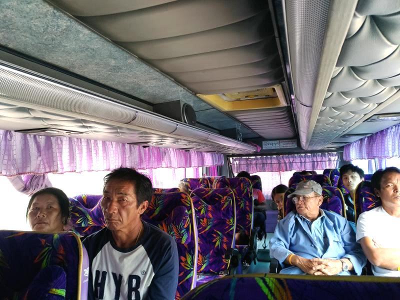 ピッサヌロークからコンケーンまでバスでの行き方