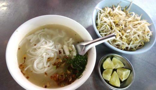 【ビエンチャン】美味しいカオピヤックを食べるならココ!『デリシャスヌードル(Delicious Noodle)』