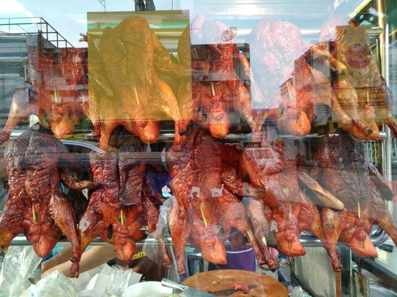 【コンケーン】バミーペッ(アヒル肉ラーメン)がジューシーで絶品の屋台!