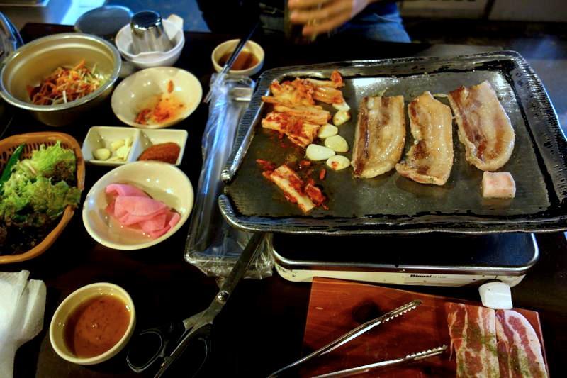 【ソウル新村】サムギョプサル1人前5,500ウォン!?今時ありえない値段で食べれる「ソルレイム」