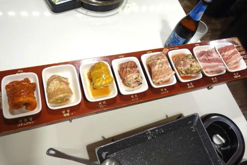 【韓国】8種類の味が楽しめる!噂の八色サムギョプサルへ行ってみた!