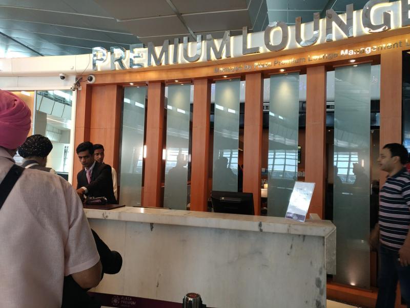 デリー空港でプライオリティパスが使える!「プラザ・プレミアム・ラウンジA」レポート!