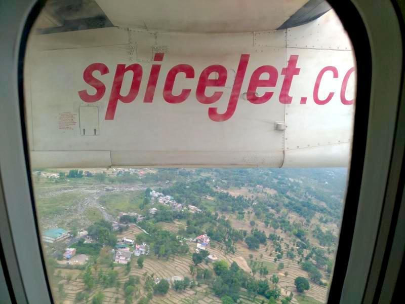 ダラムサラからデリーまで!スパイスジェットSpiceJet搭乗レポート!