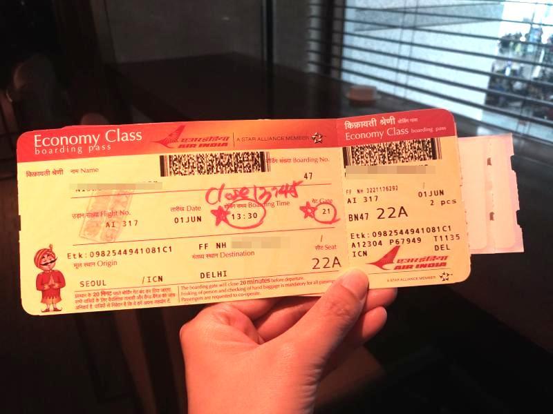 ソウル⇔デリー往復がエア・インディアで42,000円と格安!乗り心地はどう?