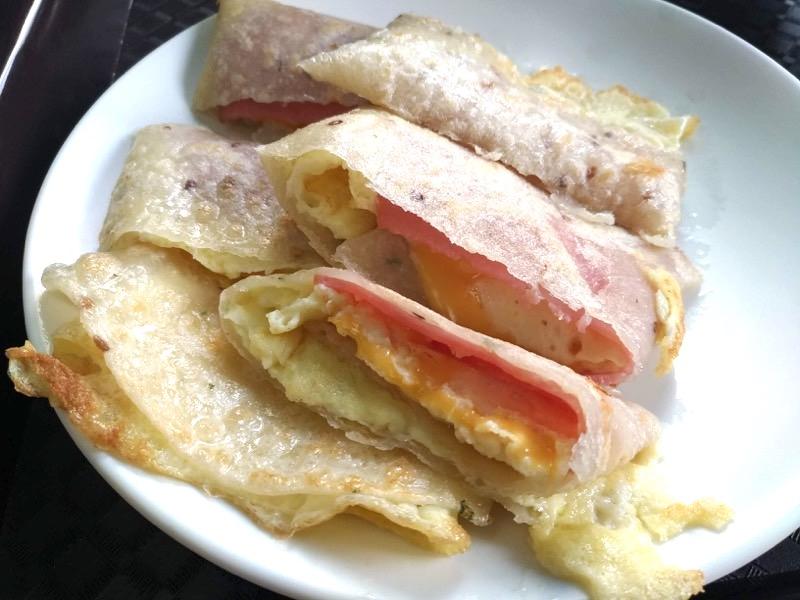 【台湾】炭火で香ばしく焼くサンドウィッチの専門店「喜得炭火燒三明治」