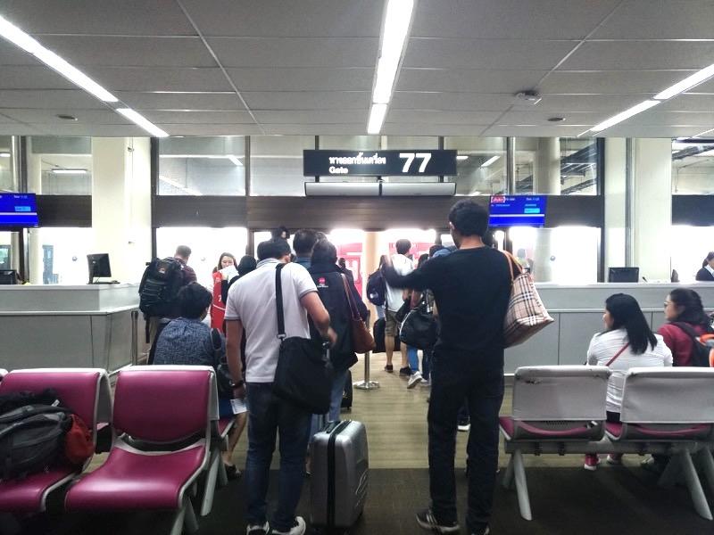バンコクからピッサヌロークまでエアアジア搭乗レポート!航空券代はいくら?