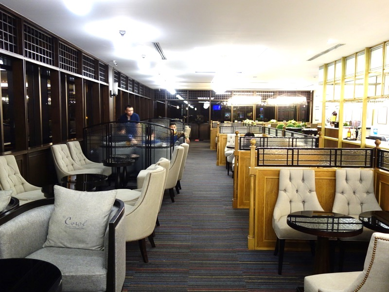 バンコク・ドンムアン空港国際線でプライオリティパスが使える!「コーラル」ラウンジレポート!