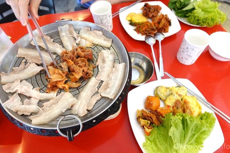 マカティで399ペソでサムギョプサルと韓国料理が食べ放題のレストラン!「マッカルネジプ」