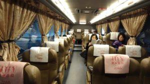 台北から台南へバスでの行き方。台湾の長距離バスはとっても快適!